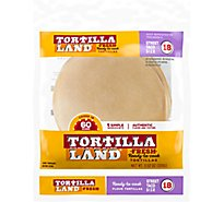 TortillaLand Uncooked Flour Tortillas Street Taco Size - 18 Count