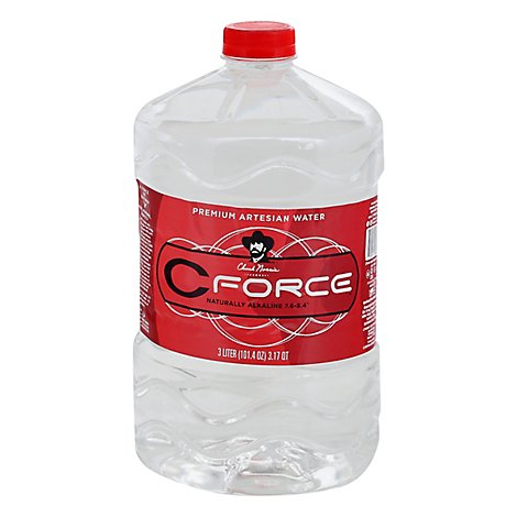Cforce Water Artesian 3 Liter - 101.4 Fl. Oz.