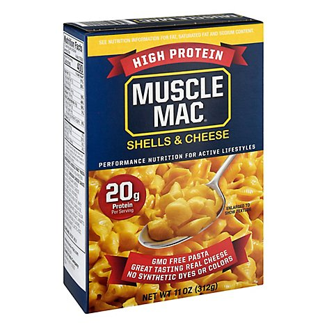 Muscle Mac Shells & Cheese - 11 Oz