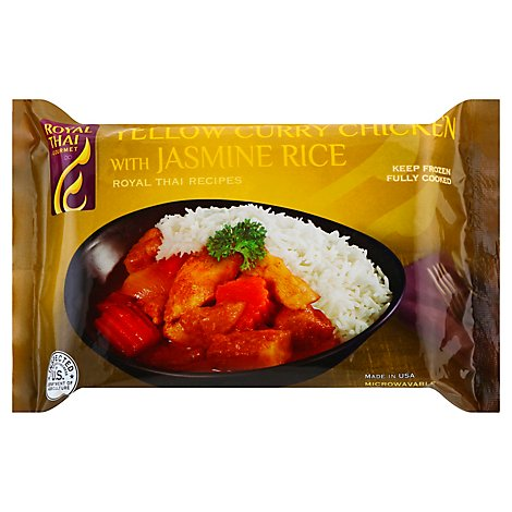 Royal Thai Yellow Curry Chicken - 10 Oz