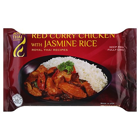 Royal Thai Red Curry Chicken - 10 Oz