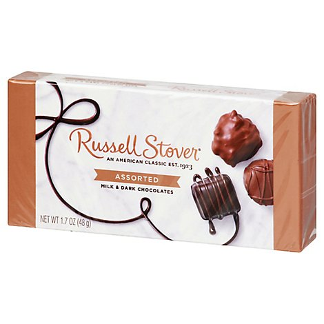 Russell Stover Chocolates Milk & Dark Assorted - 1.7 Oz