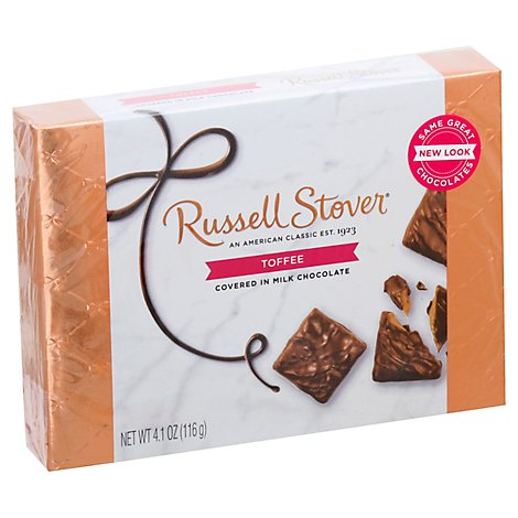 Russell Stover Toffee - 4.1 Oz