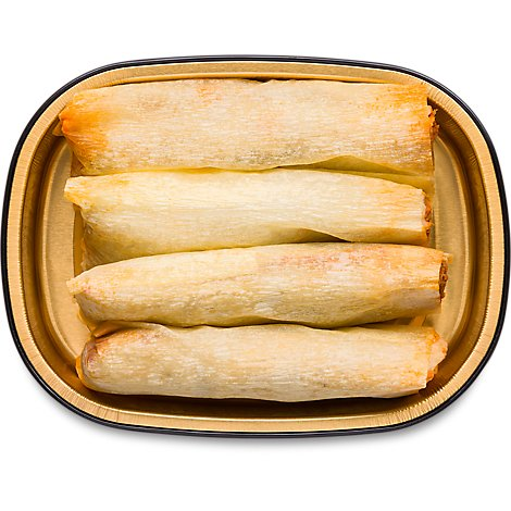 Del Real Pork Tamales 4 Count