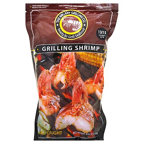 Bbq Bay Raw Shrimp 13-15 Ct - 2 Lb