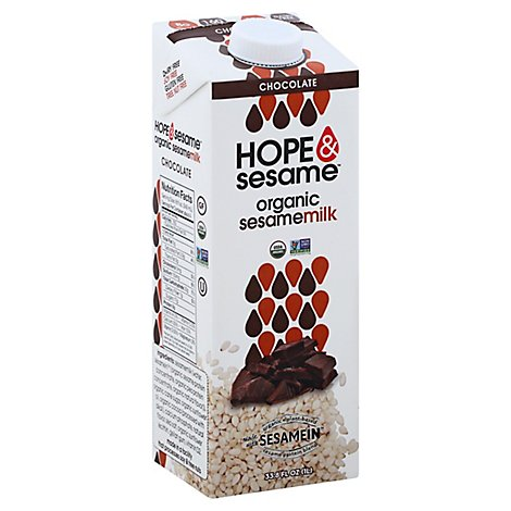 Hope And  Milk Ssame Choc  Org - 33.8 Fl. Oz.
