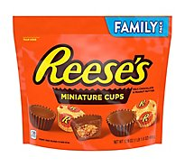 REESES Miniature Cups Milk Chocolate Peanut Butter - 17.6 Oz