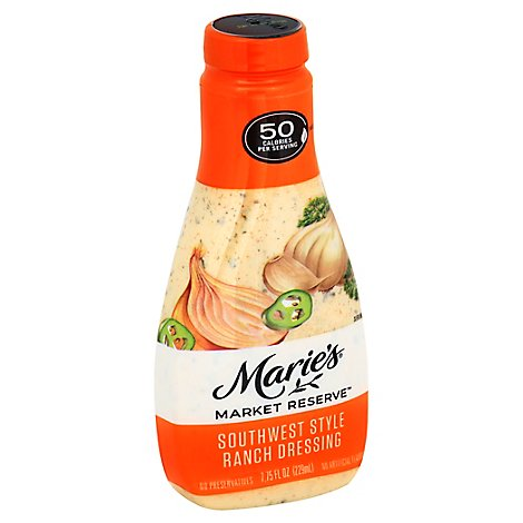 Maries Market Reserve Dressing Ranch Southwest Style - 7.75 Fl. Oz.