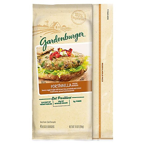 Gardenburger Portabella - 10 Oz