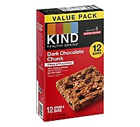 KIND Bar Dark Chocolate Chunk Value Pack - 12-1.2 Oz