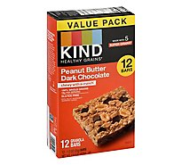 KIND Bar Peanut Butter Dark Chocolate Value Pack - 12-1.2 Oz