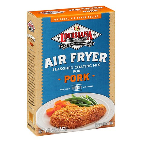 Louisiana Mix Air Fry Pork Coating - 5 Oz