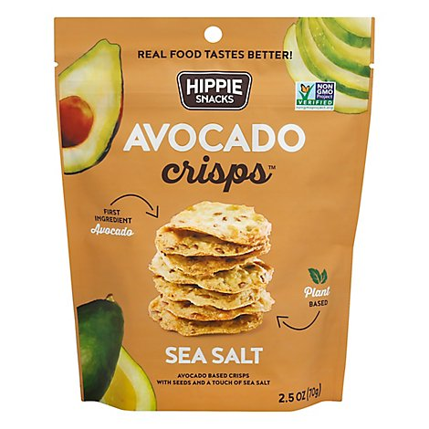 Hippie Sn Crisps Avocado Sea Salt - 2.5 Oz
