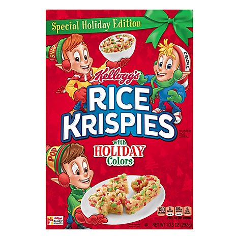Rice Krispies Rice Cereal Toasted Special Edition - 10.3 Oz