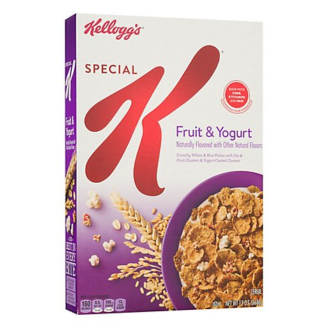 Special K Breakfast Cereal Fruit and Yogurt - 13 Oz