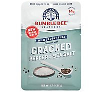 Bumble Bee Light Tuna In Water With Cracked Pepper Spoon In Pouch - 2.5 Oz
