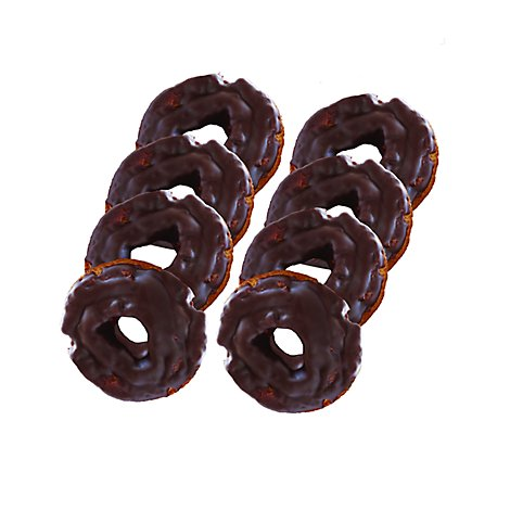 Old Fashion Chocolate Donut 8ct