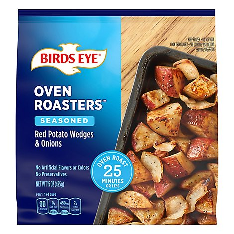 Birds Eye Oven Roasters Red Potato Wedges & Onions Seasoned - 15 Oz