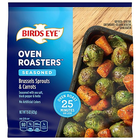 Birds Eye Brussle Sprout & Carrots - 15 Oz