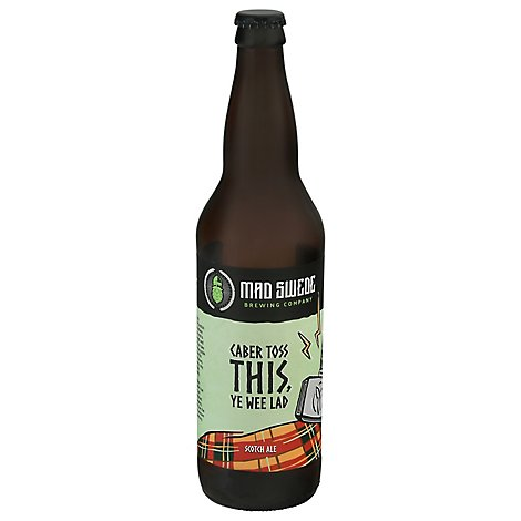 Mad Swede Caber Toss Scotch Ale In Bottles - 22 Oz