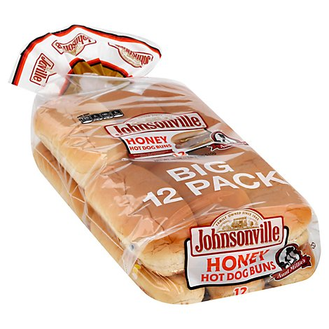 Aunt Millies Honey Hot Dog Buns - 18 Oz