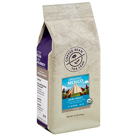 Coffee Bean & Tea Leaf Mexico Organic Dark - 12 Oz