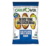 CAULIPOWER Sweet Potatoasts Sweet Potato Slices Sea Salt & Olive Oil Roasted - 16 Oz