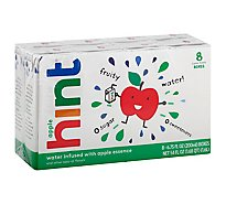 hint Kids Water Infused With Apple - 8-6.75 Fl. Oz.