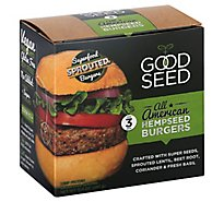 Good Seed Burger Hempseed American - 10.5 Oz