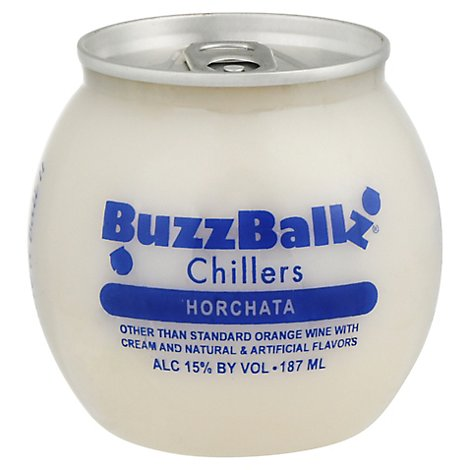 Buzz Ballz Chiller Horchata - 187 Ml