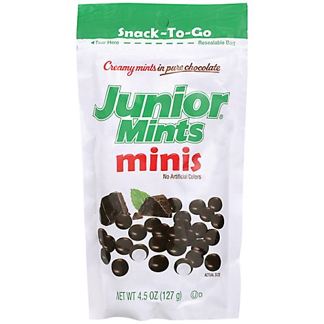 Jr Mints Minis - 4.5 Oz