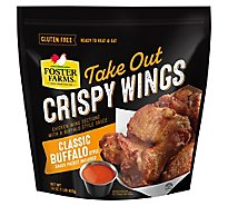Foster Farms Take Out Crispy Chicken Wings Classic Buffalo - 16 Oz