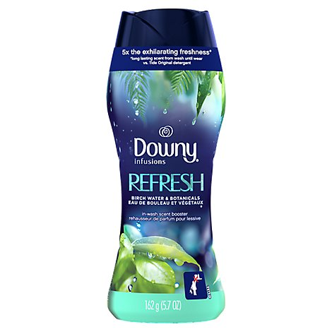 Downy Infusions Scent Booster Refresh Birch Water & Botanicals - 5.7 Oz