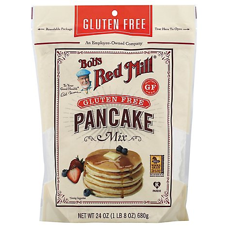 Bobs Red Mill Pancake Mix Gluten Free - 24 Oz