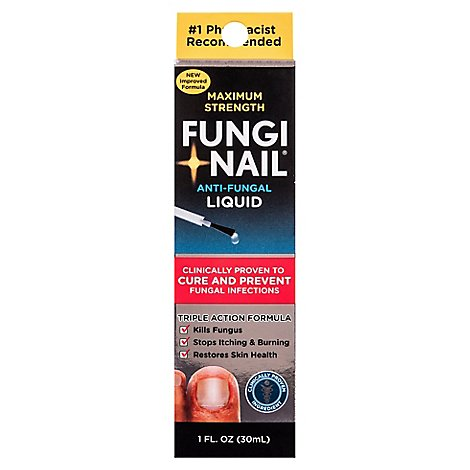 Fungi Nail Anti-Fungal Liquid - 1 Oz