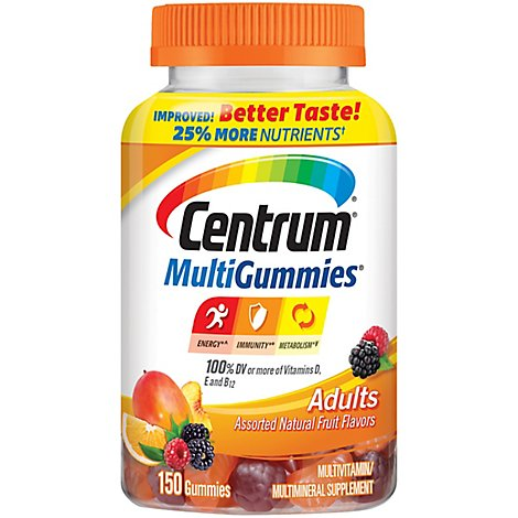 Centrum Adult Multi Vit Gummies - 150 Count