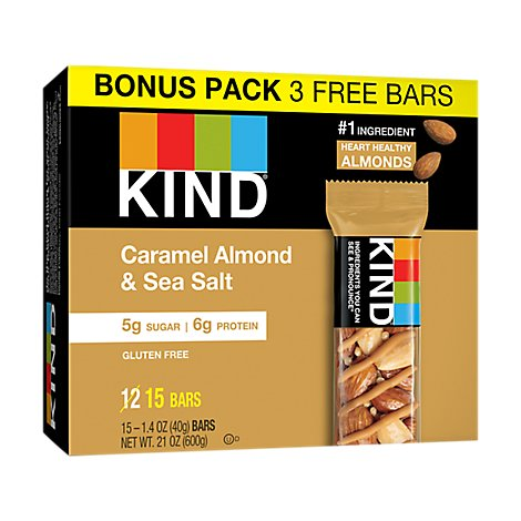 Caramel Almond & Sea Salt Bonus Pk - Each