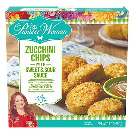 Pioneer Woman Frozen Entrees/Sides Zucchini Chips - 15 Oz