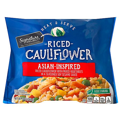 Signature Select Cauliflower Riced Asian Inspired - 12 Oz