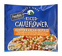 Signature SELECT Cauliflower Riced Mediterranean Inspired - 12 Oz
