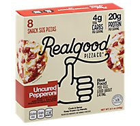 The Real Good Food Company Pepperoni Pizza Snack Bites - 8.5 Oz