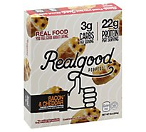 The Real Good Food Company Bacon And Cheese Poppers - 9 Oz