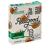 The Real Good Food Company Chicken & Parmesan Poppers - 9 Oz