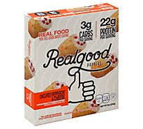 The Real Good Food Company Pepperoni And Cheese Poppers - 9 Oz