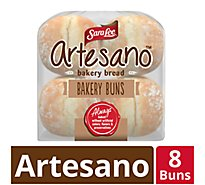 Sara Lee Artesano Bakery Bread Buns - 19 Oz