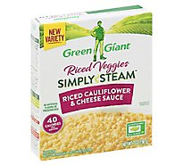 Green Giant Bib Steam Rice Cauliflower Cheese Sauce - 7 Oz