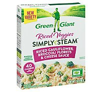 Green Giant Bib Steam Rice Cauliflower, Broccoli, Cheese - 7 Oz