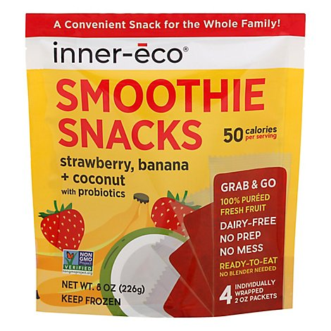 Inner Eco Smoothie Prbtc Strbry Bna - 8 Oz