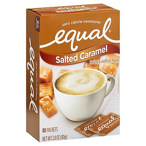 Equal Salted Caramel - 80 Count