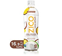ZICO Coconut Water Beverage Sunny Pineapple Coconut Flavored - 16.9 Fl. Oz.